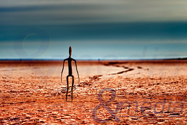 Lake Ballard: 1st April 2013