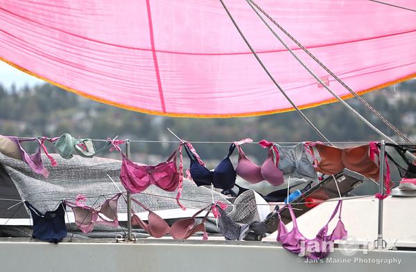 Pink Boat Regatta Tacoma