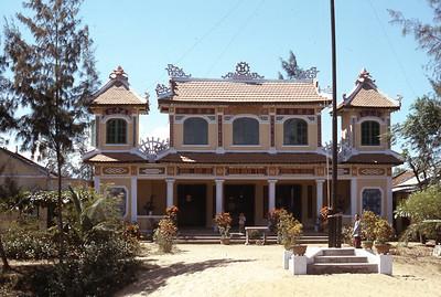 Temple Viet Nam Da Nang 1965