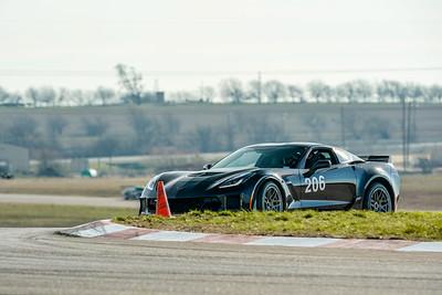 #206 Black C7 Corvette Z06