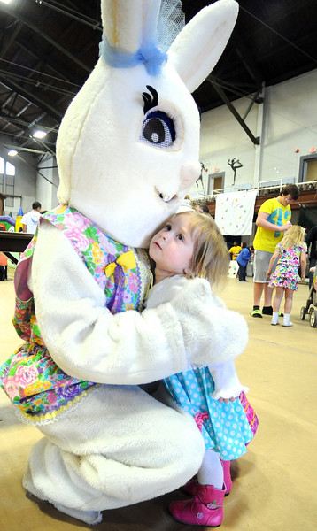 The 14th annual Easter egg hunt at the Lewiston Armory