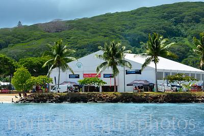 Day 2 Raiatea to Tahaa Arrival Hawaiki Nui Va'a 2013