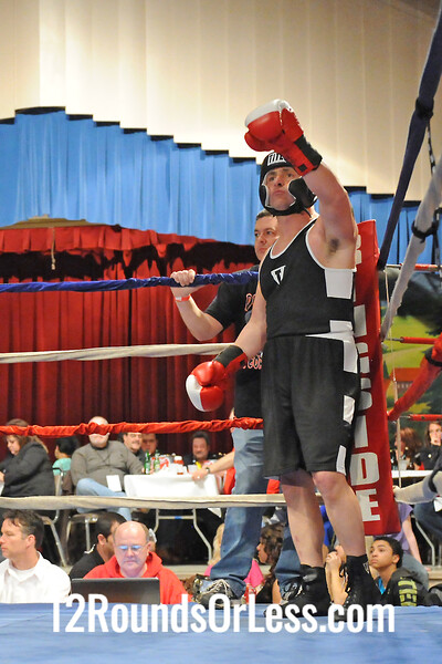 Bout 8 Steve Spinelli, Cleveland -vs- Brian Meyer, Cleveland 190 lbs