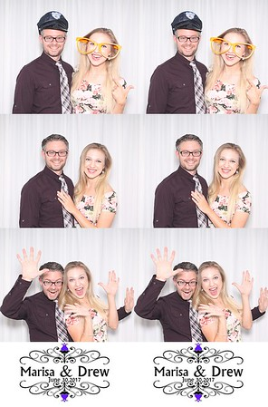 2017-06-30 Photo Booth - Marisa (Polatas) & Drew Norton