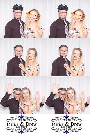 2017-06-30 Photo Booth - Marisa (Polatas) & Drew Norton