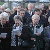 UUP Leader Sir Reg Empey joined relatives of the Kingsmills Victims at the 30th Anniversary Memorial Service 06W02N268