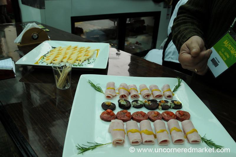 A Popular Stand - Mistura Gastronomy Festival in Lima, Peru