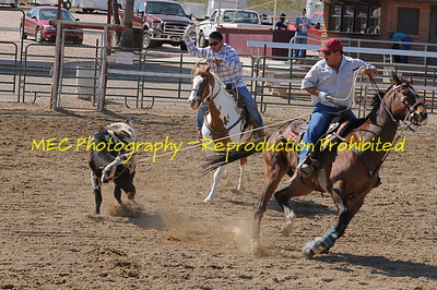 Double C Roping  April 25, 2009