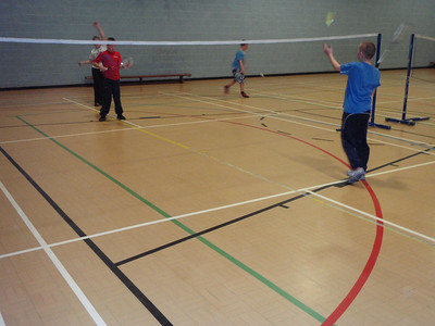Badminton Scouts September 2010
