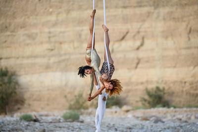 Acrobats in Negev Views