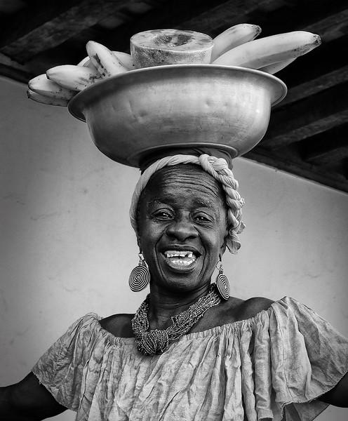 Fruit Seller; Cartagena, Colombia