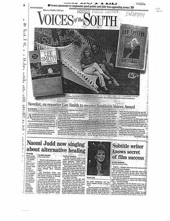 Newspaper 1999