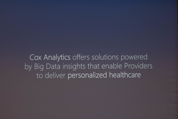2015 COX Analytics Summit