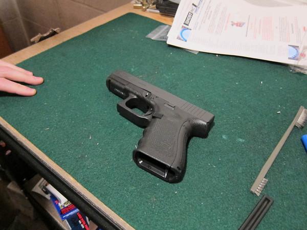 Glock 23 Teardown (and upgrade!)