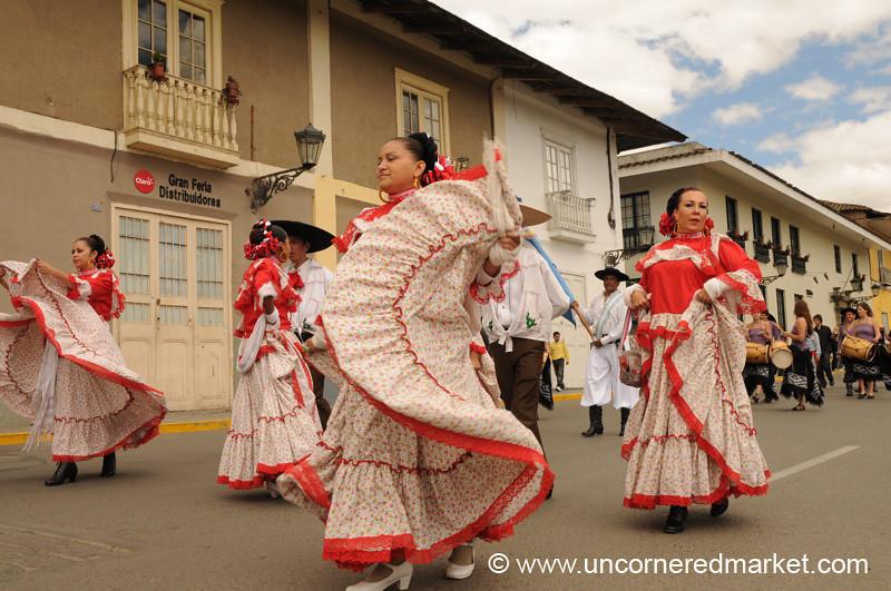 Mexican Dance Step - Cajamarca, Peru