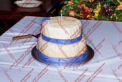 Make a wish and cut the cake.