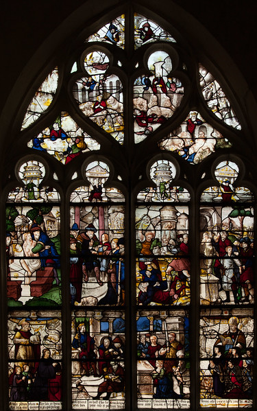 Bar-sur-Seine Church of Saint-Stephen. Daniel and the Judgment of Solomon