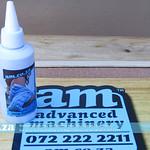 SKU: H-INK/CYAN, Heatware Cyan Dye Sublimation Ink 100ml Mini Bottle