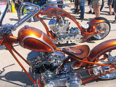 Rolling Art-Hilites of the 2012  Rat's Hole Chopper Show