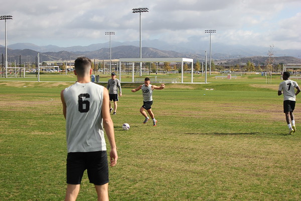 2018 Men's Soccer NAIA National Championship Practice