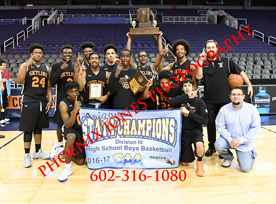 2-24-2017 - Tri-City Christian Academy vs Skyline Prep (CAA D3 Final)  Championship