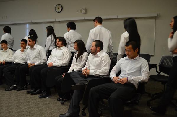 2012-02-25 Chartering Ceremony