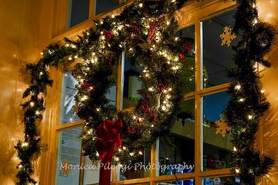 Downtown Fredrick - Christmas Decorations 2016