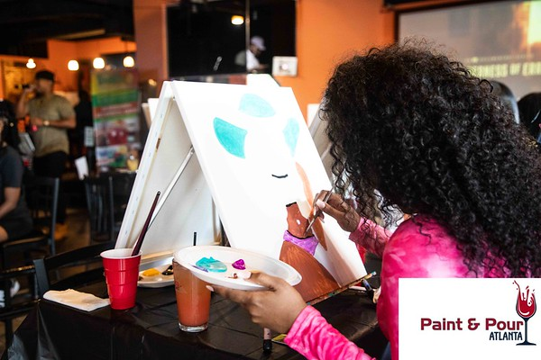 Paint and Pour Atl 2020