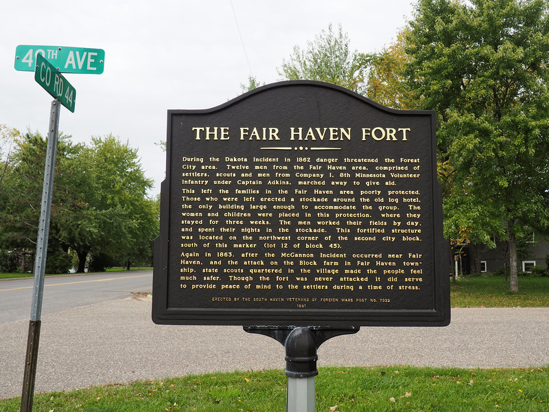 Historic Marker: The Fair Haven Fort