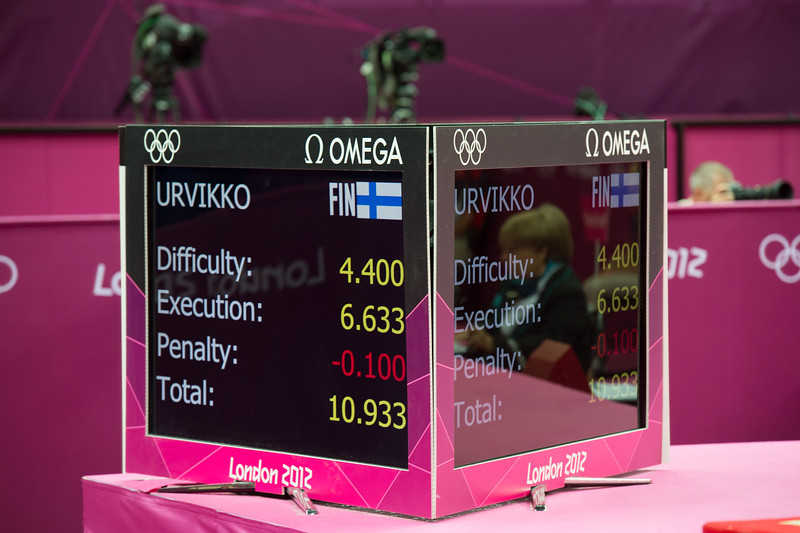 Annika Urvikko at London olympics 2012__29.07.2012_London Olympics_Photographer: Christian Valtanen_London_Olympics_Annika Urvikko at London olympics 2012_29.07.2012_DSC_9957_Annika Urvikko, finnish athlete, gymnastics