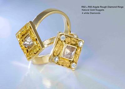 Arteon WG Rough Diamonds Jewellery Collection