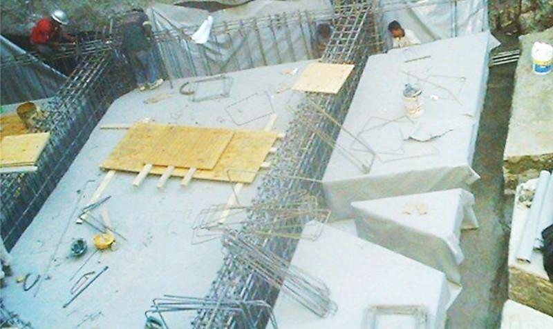 Geomembrana PVC