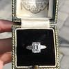 2.03ct Emerald Cut Diamond Ring, GIA K IF 11