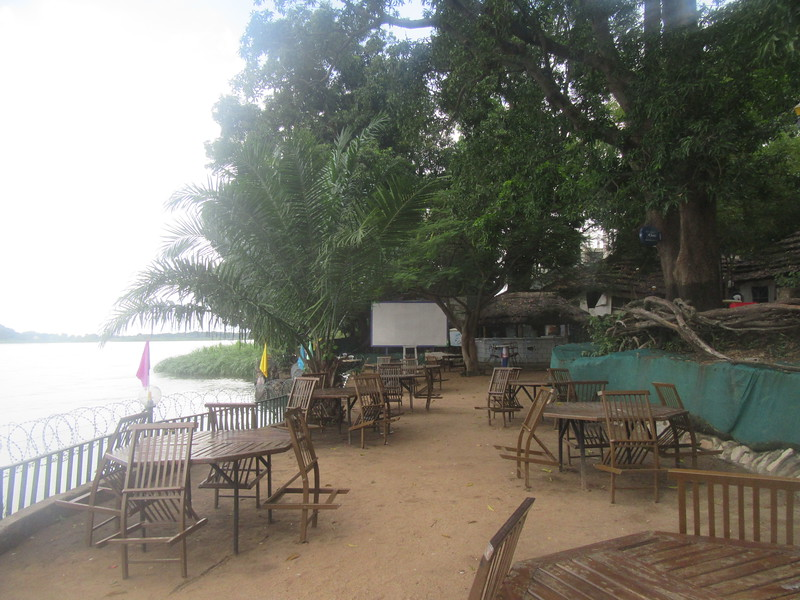 028_South Sudan. Juba. Safari Wing Oasis. A Compound. The White Nile.JPG