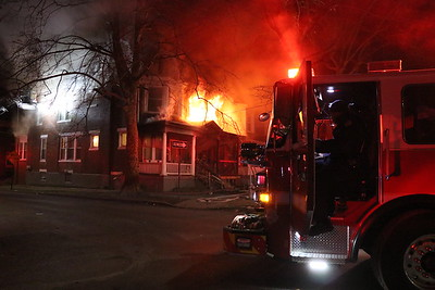 2nd Alarm Structure Fire - Radnor Street - February 17, 2019