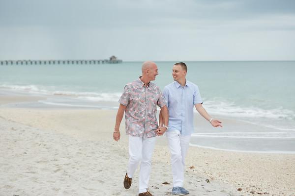 Bob + Chris | Naples Beach
