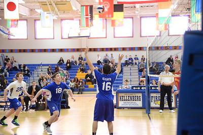 Boys Varsity Volleyball –2017