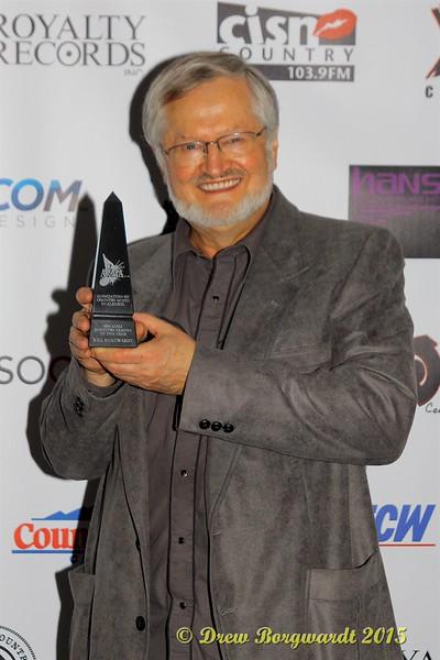 Bill Borgwardt - Industry Person of the Year - ACMA Awards Show 2015