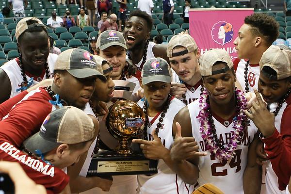 Oklahoma v. Harvard 2015 Diamond Head Classic