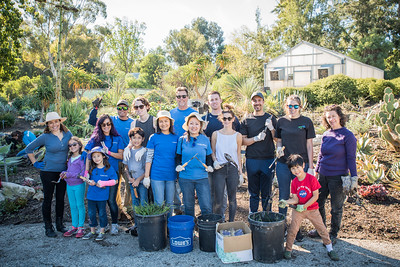 South Coast Botanic Garden Northrop Grumman Volunteer Day