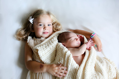 Baby Kieran 9 days old