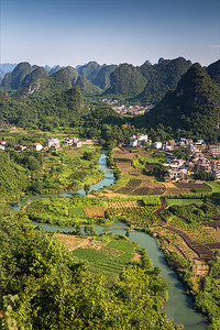 Rosie Hughes - LATE AFTERNOON YANGSHUO
