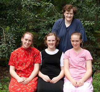 Theresa, Bethany, Sarah, Lisa Wood July 24, 2012