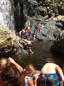 Hawaiian Falls - August 12, 2013