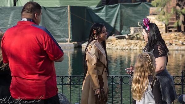 Disneyland Resort, Disneyland, Frontierland, Pocahontas