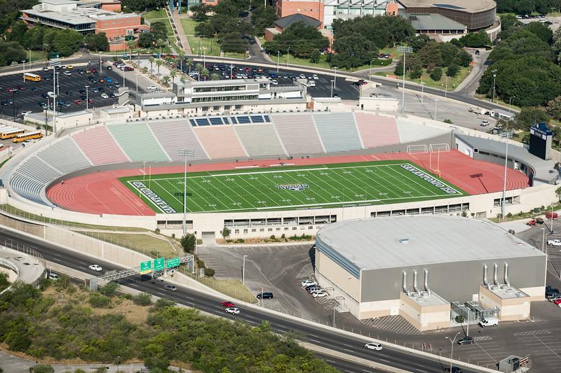 09/23/2014 092445 -- San Antonio, TX -- © Copyright 2014 Mark C. Greenberg  Alamo Stadium