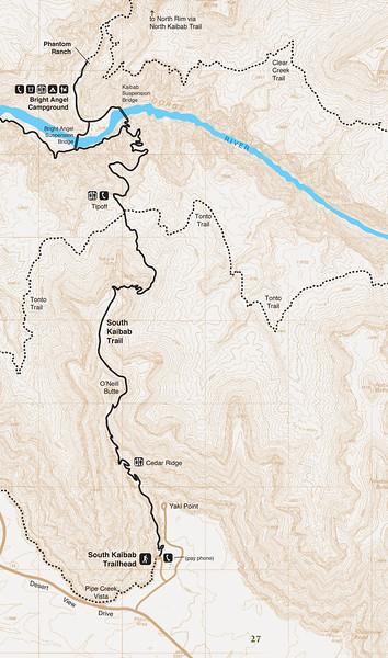 Grand Canyon National Park (South Kaibab Trail)