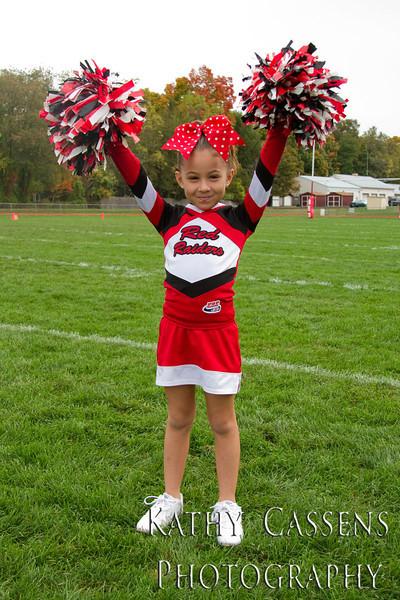 Red Raiders Tiny Mites Cheer 2012