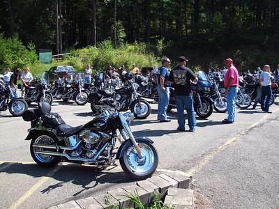 Ride For Regen thor Straten, Nesquehoning, West Penn Fire Company, West Penn (8-26-2012)
