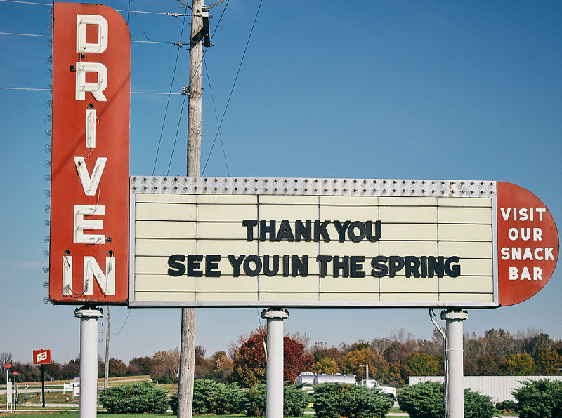 Route 66 - Drive-in movies